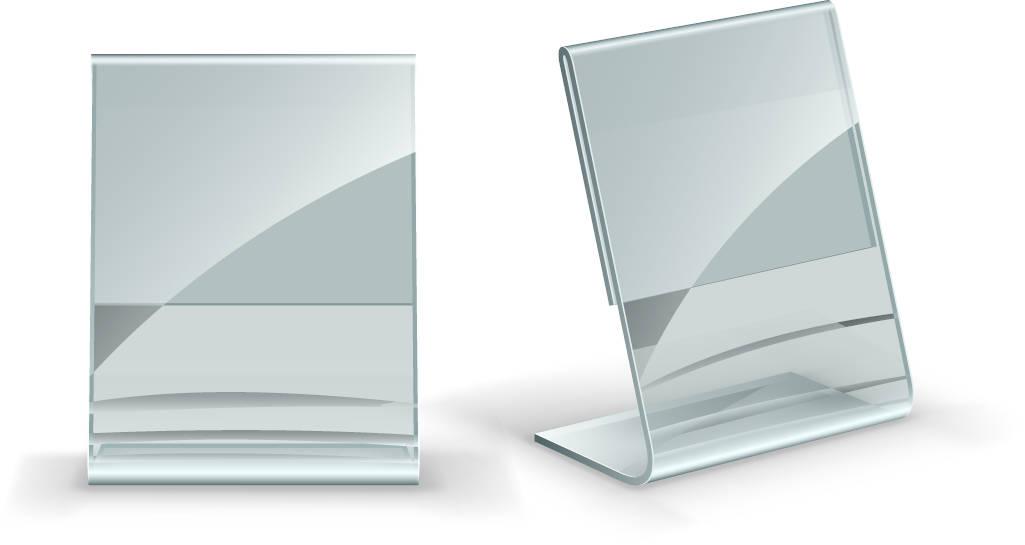 stand plexiglass